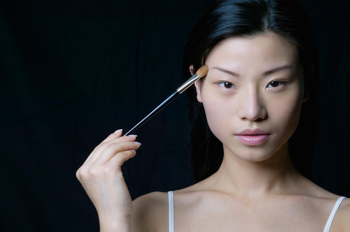 Asian-Woman-Makeup-Skin-Care